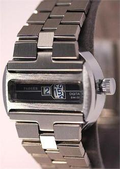 Big Watches, Stylish Watches, Luxury Watches For Men, Cool Watches, Rolex Watches, Breitling Navitimer, Skeleton Watches, Vintage Watches, Digital Watch