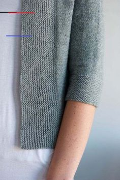 Miriam Cardi - #magariungiorno Moda Crochet, Knit Or Crochet, Crochet Pattern, How To Purl Knit, Garter Stitch, Pulls, Knitting Projects, Look Fashion, Hand Knitting