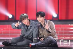 181129 power of comeback♡wannaone Let's Stay Together, Kpop Couples, My Destiny, Kim Jaehwan, Ha Sungwoon, My Youth, Ji Sung, Seong, 3 In One