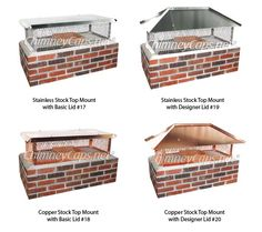 Our Quot 1 Cap Quot Each Designed To Fit Your Chimney Perfectly