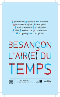 Besançon l'air(e) du temps - Petit Futé Air, Rural Area, Posters, Tourism