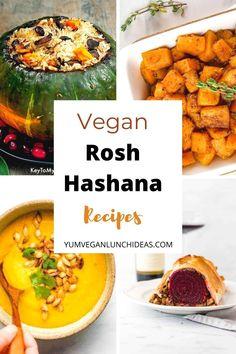 Vegan Blogs, Best Vegan Recipes, Vegan Dinner Recipes, Vegan Dinners, Vegetarian Recipes, Vegan Rosh Hashana, Jewish Food, Vegan Main Dishes, Vegan Thanksgiving