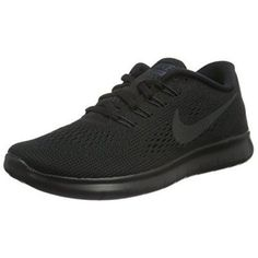 Womens Nike Free RN Running Shoes (all Black) (8, Black) Clothing, Shoes & Jewelry - Women - Shoes - women's shoes - amzn.to/2jttl6P