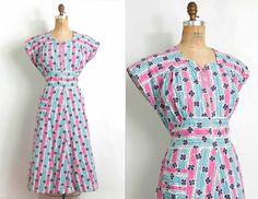 Stripes & clovers 40s house dress. LOVE!