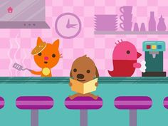 best kids apps - Sago Mini Pet Cafe