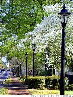 Main Street Roswell, GA - Georgia