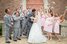 Wedding Party Photos || PHOTO SOURCE • PHOTOGRAPHY BY BETTY ELAINE