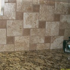 Back splash - YUK!!!!  Save this as a DONT!  The tile back splash does not compliment the granite AT ALL!!!!!
