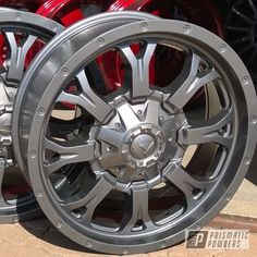 20 Wheels, Powder Coating, Chevy Trucks, Oven, Chrome, Black And White, Ideas, Counting Cars, Dashboards