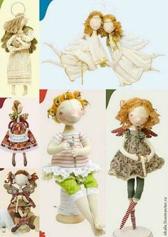 NKALE:-) In the heart of each toy: The second book of Nkale ! Raggy Dolls, Half Dolls, Fabric Dolls, Handmade Toys, Doll Toys, Doll Clothes, Fairy, Diy Crafts, Sewing