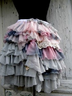 Skirt shabby chic fairy  fairy punk victorian by radusport on Etsy, $71.00