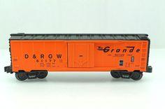 O O27 K Line D RGW 61177 Rio Grande Freight Box Car 640 1493 | eBay
