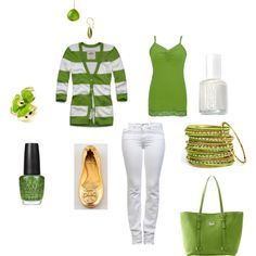 St. Patty's Day Outfit, created by melissagarcia195.polyvore.com