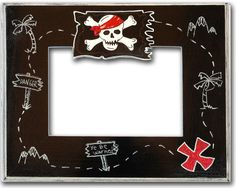 My boys love pirates. Picture Frames For Parties, Party Photo Frame, Party Frame, Pirate Treasure Maps, Pirate Maps, Pirate Theme, Pirate Pictures, Map Pictures, Photos