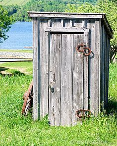 pics of outhouses | Wooden Outhouse Royalty Free Stock Photos - Image: 6339968