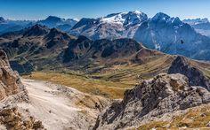 Canazei, mountains, Dolomites, Trentino Alto Adige, Italy