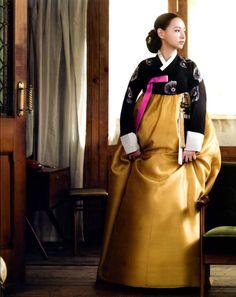 Korean traditional dress (hanbok) by Hangook Bidan
