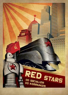 retro posters ROBOT by Zoki Cardula, via Behance