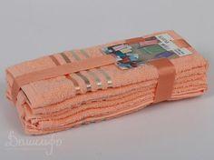 Набор полотенец BALE абрикосовый 30х50 (3шт) от Karna (Турция) - купить по низкой цене в интернет магазине Домильфо