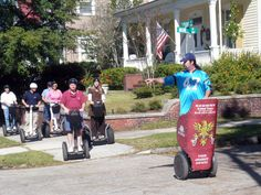 Segway tour in Wilmington, North Carolina. Family Activities, Outdoor Activities, Cape Fear, Wilmington Nc, Beach Fun, Historical Sites, Hunter Boots, Playground, North Carolina
