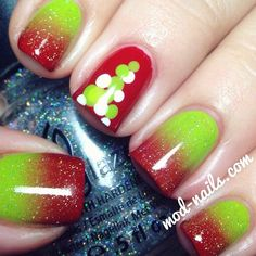 Christmas by modnails #nail #nails #nailart