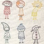 Rainbow Girls Embroidery Pattern by Shiny Happy World - Love this pattern!  (not free) but soooooo cute!