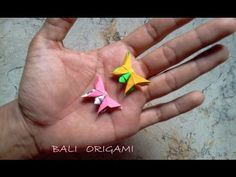 How to make Origami Butterfly ( Michael G Lafosse ) - YouTube