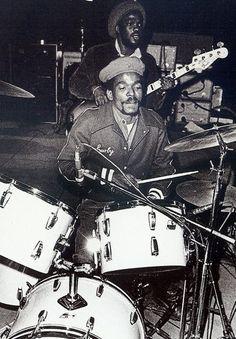 Carlton Barrett~original drummer for the Wailers.