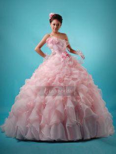 ランディブライダル landybridal カラードレス プリンセスドレス