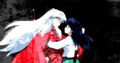 Kagome and Inuyasha kiss (gif) Anime kisses are animated so weird lol Inuyasha Cosplay, Amor Inuyasha, Inuyasha Love, Kagome And Inuyasha, Kagome Higurashi, Inuyasha Memes, Inuyasha Funny, Disney Marvel, I Love Anime