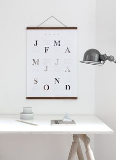 Calendar 2016 by Coco Lapine | Poster from theposterclub.com