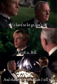 This scene makes me weep every time I see it. Meet Joe Black