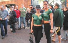 Proud South African girls. Go Bokke, African Girl, Painted Ladies, Woman Painting, Beautiful Legs, Rugby, Girlfriends, Camo, Comedy