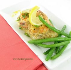 Treat your Family to Oven baked Cod and Shrimp with Lemon Mustard Sauce   This recipe for oven baked cod and shrimp with a lemon mustard sauce is perfect for a busy weeknight when time is at a premium. Best of all, the dish is low calorie and also Gluten Free.   My husband is English and his favorite fish is cod. Most of the time, when I find it, the cod is very thin which makes it a challenge ...  Phase 1 maybe water instead of oil.