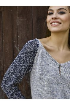 How To Make a Kansas Henley Knit Top Free Pattern 2