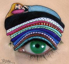 Fairytale: The Princess and the Pea looked rather uncomfortable atop Mr Peleg's eyebrow...