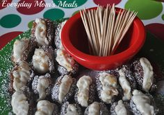 Orange & Walnut Stuffed Dates | A perfect little Christmas recipe for your holiday table!!