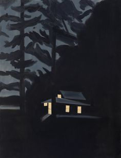 Night House, 2013 by Alex Katz