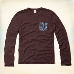 Guys Desert Springs Pocket T-Shirt | Guys Secret Sale | HollisterCo.com