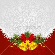 Новогодний фон — Векторная картинка #16785733