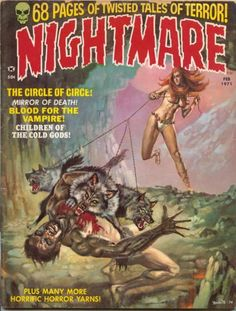 Cover for Nightmare (1970 series) #2