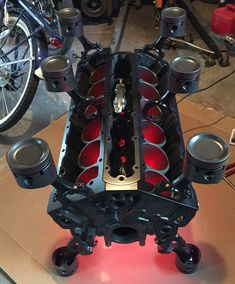 Jaguar V12 Engine Block Table Www.Badassblox.Com