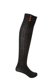 Buttoned Knee High Socks | FOREVER21 - 2000120146