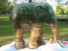 Elephant Parade by Guy Tyler, via Flickr
