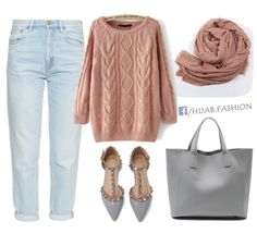 Dusty Pink - Fall Outfit Idea