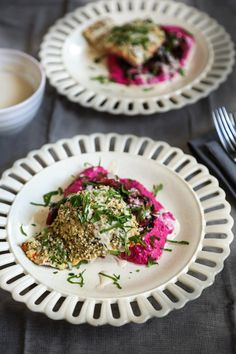 Hemp Crusted Salmon