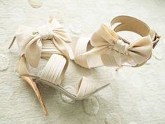 Cream Heels - something like this for prom perhaps?