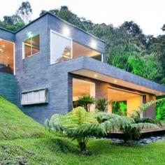 """House """"Lago en el Cielo"""" in Colombia by David Ramirez Arquitectos."""