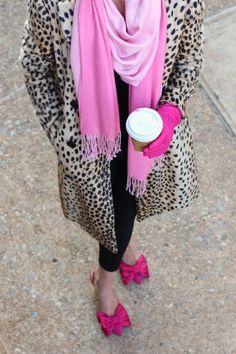 ZsaZsa Bellagio: Bright Pink POP!