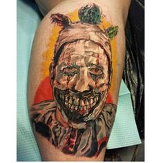 Just did this Twisty the clown from American Horror Story: